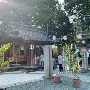 川越熊野神社とコストコ
