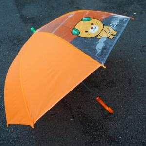とべ動物園の貸し傘がみきゃん
