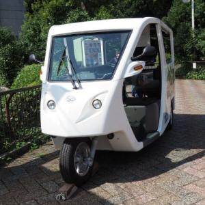 とべ動物園三輪電気自動車
