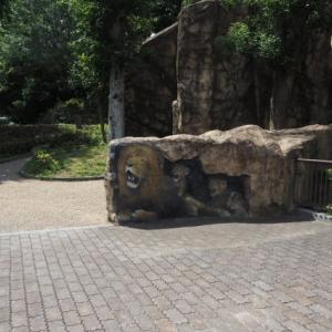 とべ動物園ライオンの絵が登場