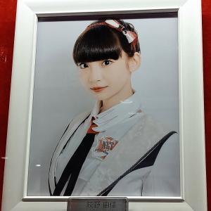 荻野由佳さん、卒業発表・・・