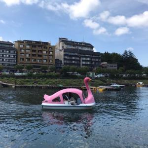 2019年夏休み⑤スワンボートからの帰路へ