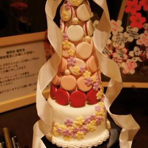 友人の結婚式にマカロンタワーを!