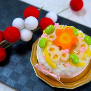 もうすぐ19時から『ちらし寿司ケーキ』1DAYレッスンのご予約開始!