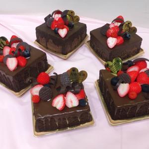 ベリーのチョコレートケーキありがとうございました♡