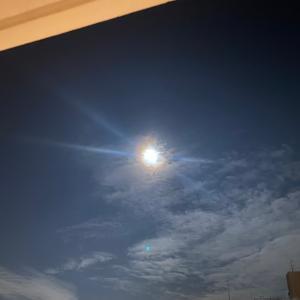 中秋の名月を眺めながら自分TIME♡