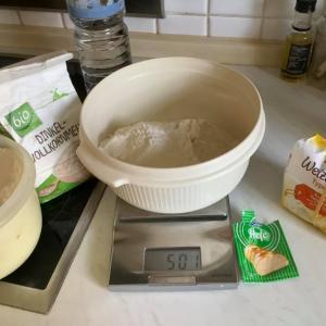とっておきの小麦粉を使いました