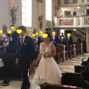 教会での式