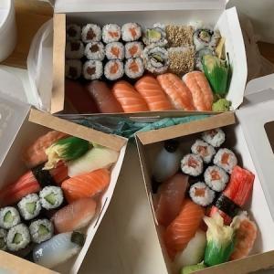 お寿司を求めて3000里