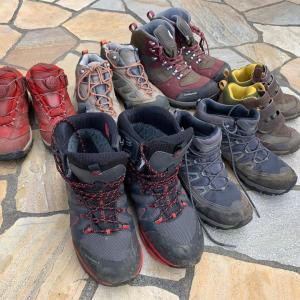 富士山に向けて靴を用意しましょう。