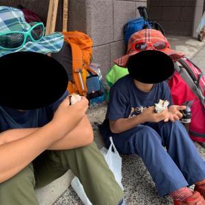 子供と一緒に富士登山2019  その1