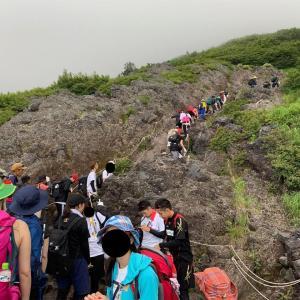 子供と一緒に富士登山2019 その2