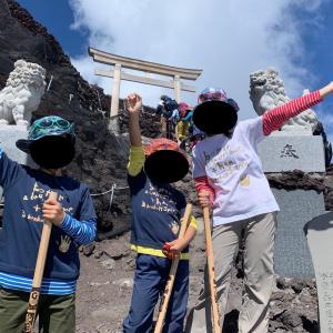 子供と一緒に富士登山2019 その3