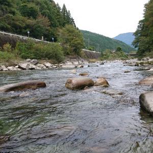 2019鮎釣り45日目【付知川】で納竿
