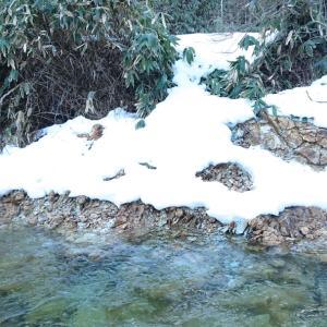 来期の渓流釣り解禁に向けて防寒対策