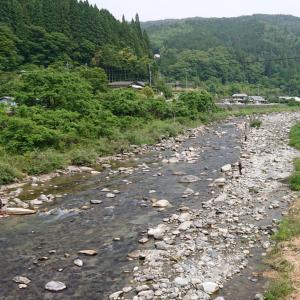鮎釣り2回目【付知川】