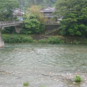 鮎釣り解禁前日に馬瀬川上流へ
