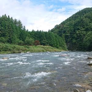 今回の馬瀬川上流での釣行を振り返って