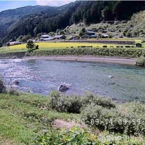 鮎釣り仲間が馬瀬川上流へ釣行