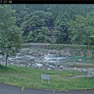 馬瀬川上流も順調に水位は下がったけど、