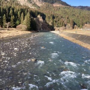 増水後の好条件なのに渓流釣り情報少な、