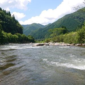 鮎釣り20回目【馬瀬川上流】