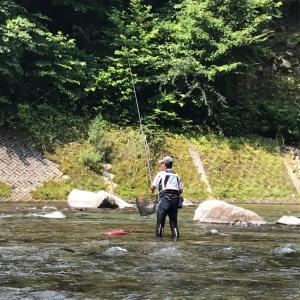 鮎釣り22回目【馬瀬川上流】