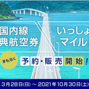 ANAの2021年夏ダイヤ国内線特典航空券は26日予約開始!秋からは特典航空券が無料じゃなくなる?