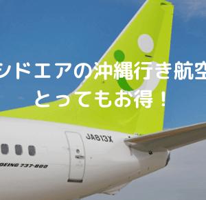 ソラシドエアの沖縄行き航空券が安い!この夏は沖縄へ旅行しよう!