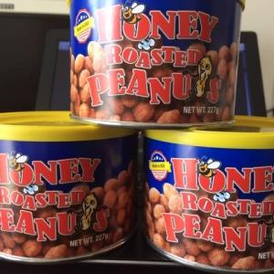 Honey Roasted Peanuts ハニーローストピーナッツ
