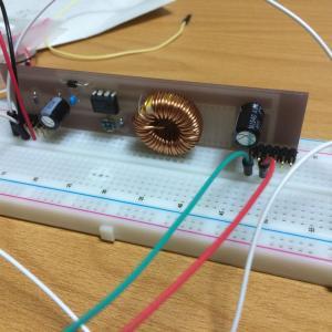 蛍光表示管時計を作る2