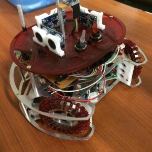 ロボサッカー用ロボを作る