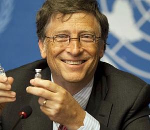 ビル・ゲイツ氏は「A案が駄目ならB案」に乗り換えた模様です。油断禁物!