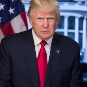 「トランプ大統領の目の周りが白い理由」考察