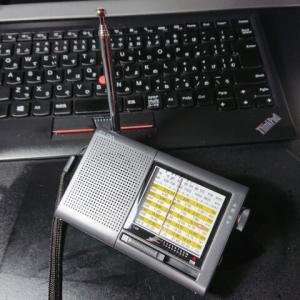 【購入記録】ELPA AM/FM/短波ラジオ ER-C74T