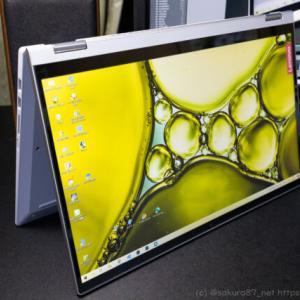 Lenovo IdeaPad Flex 550 15.6型 SSD換装と2ヶ月後のレビュー