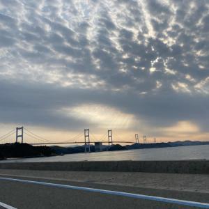 道後4日目は休館日、しまなみ海道へ。