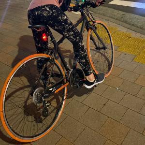 自転車が盗まれた