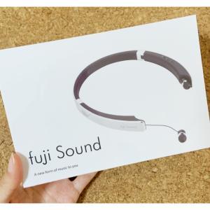 ウェアラブルスピーカー(fujisound Fuji3)が届いた!使ってみた感想レビュー♬