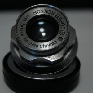 Chiyoko SUPER ROKKOR 45mm f2.8 (前期) 分解