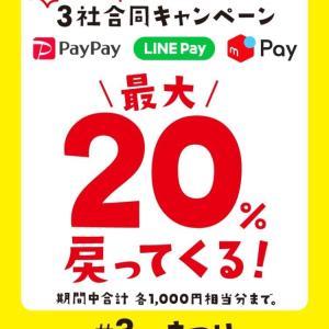 20%ポイント還元!!!
