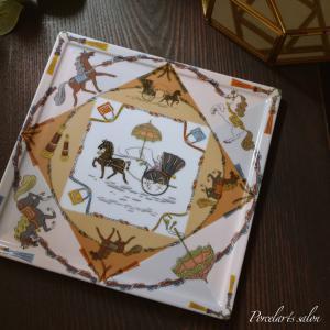【my work】シュバル転写紙スカーフアレンジ。作っていてワクワクする夢中になれる...