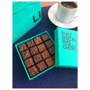 今日はバレンタインデー。今年はフランスのチョコレートにしました。#パトリックロジェ...
