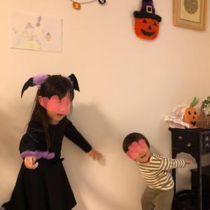 ★5歳娘+1歳11ヶ月息子、今年のハロウィン2019★