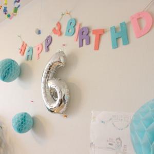 ★娘、6歳の誕生日★
