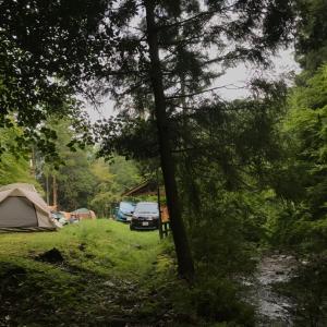 ★初めてのお泊まりキャンプ①~東吉野キャンプ場★