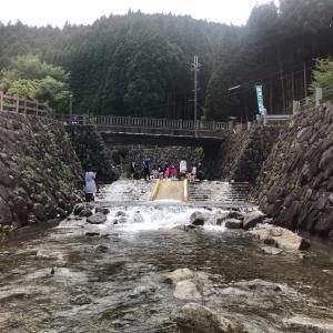 ★子連れ川遊びキャンプ@みつえ青少年旅行村〜1日目★