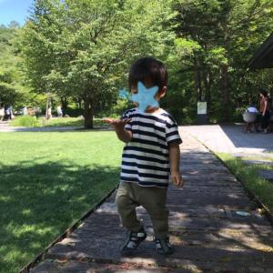 ★1歳&5歳 子連れ軽井沢旅行⑤ 涼を求めて、穴場の水遊びスポットへ★