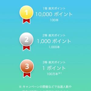 1000円当たった!