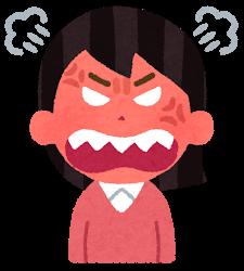 怒りのスイッチ